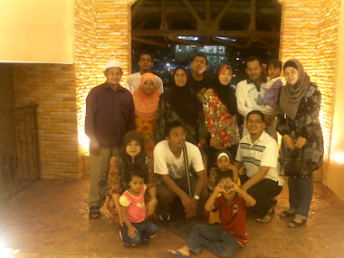 my family at melacca