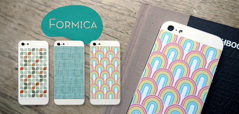 Phone Pop Formica Vinyl Backs set for iPhone 5