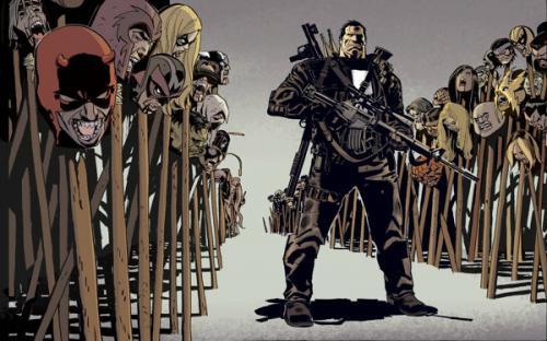 Punisher Kills the Marvel Universe