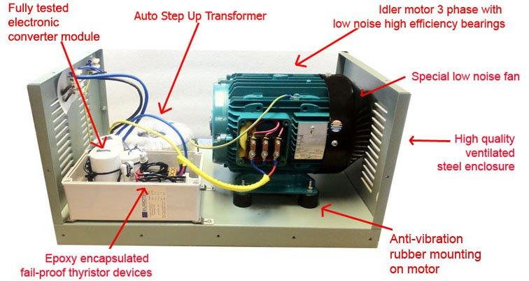 3 phase motor to single phase converter elec eng world for 3 phase motor to 1 phase