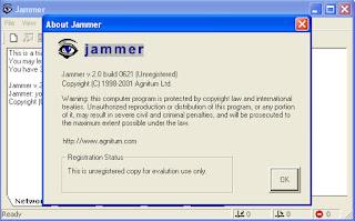 برنامج Jammer لتجميد الهاكرز
