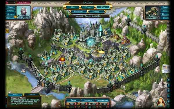 Download Free Strategy Games - Dragons of Atlantis