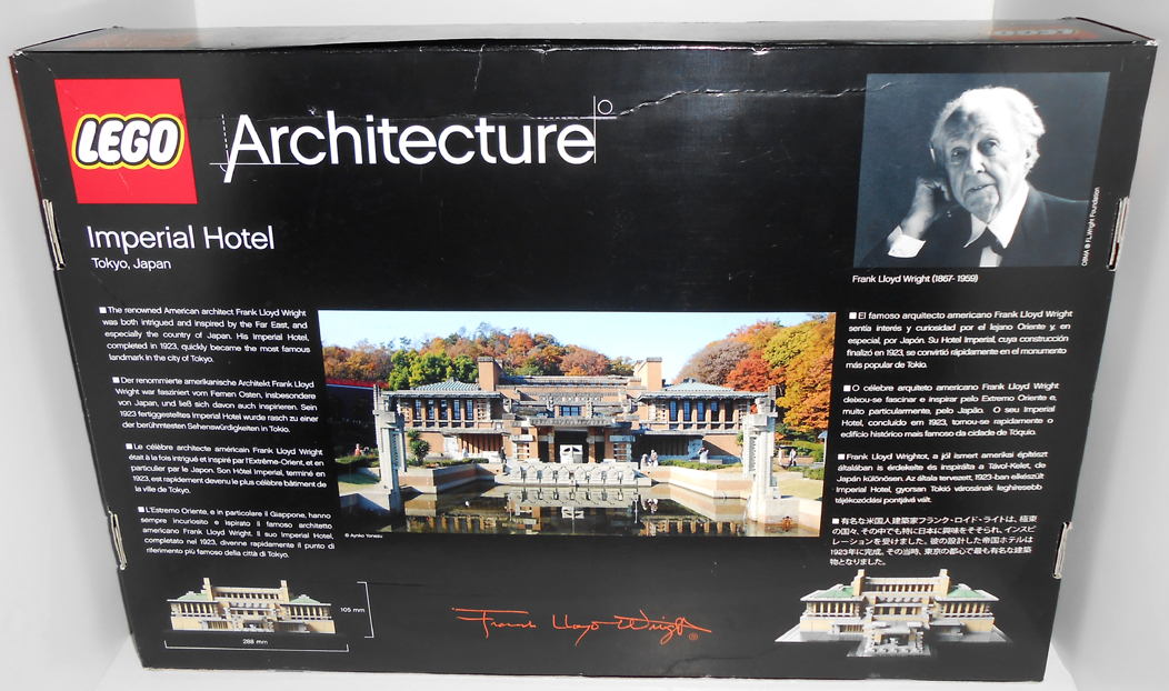 oz brick nation lego architecture 21017 imperial hotel review