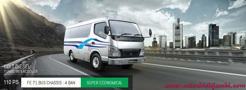 Harga Mitsubishi Colt Diesel Bus Engkel FE 71 110 PS Pekanbaru Riau | Harga Termurah | Proses Kredit Mudah