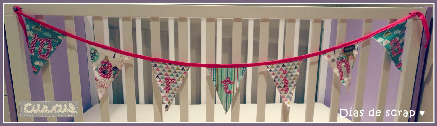 banderola personalizada handmade cuscus
