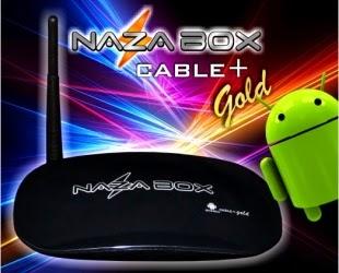 NAZABOX CABLE + GOLD NOVA ATUALIZAÇÃO V1.0.0.20 - 30/03/2015