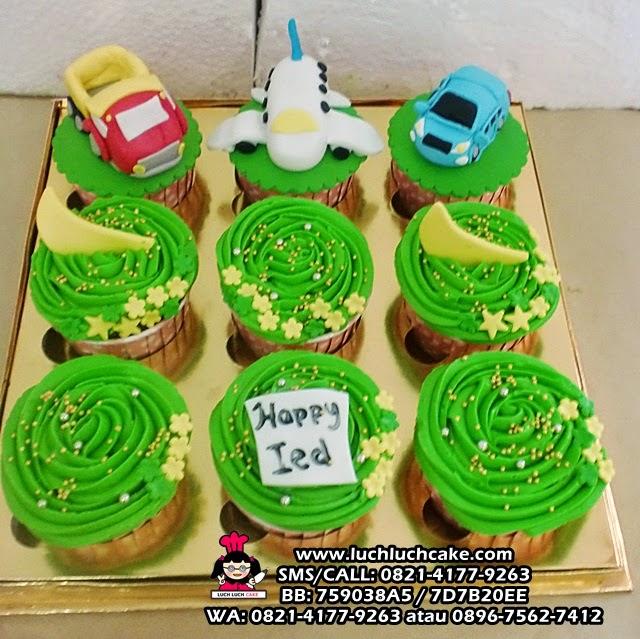 Cupcake Truk, Pesawat dan Mobil Daerah Surabaya - Sidoarjo