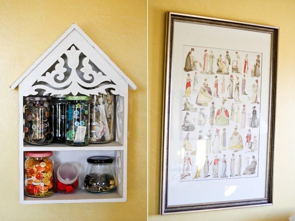 Mode de Lis: · Sewing Room Decor ·