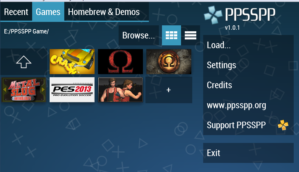 game untuk ppsspp android download