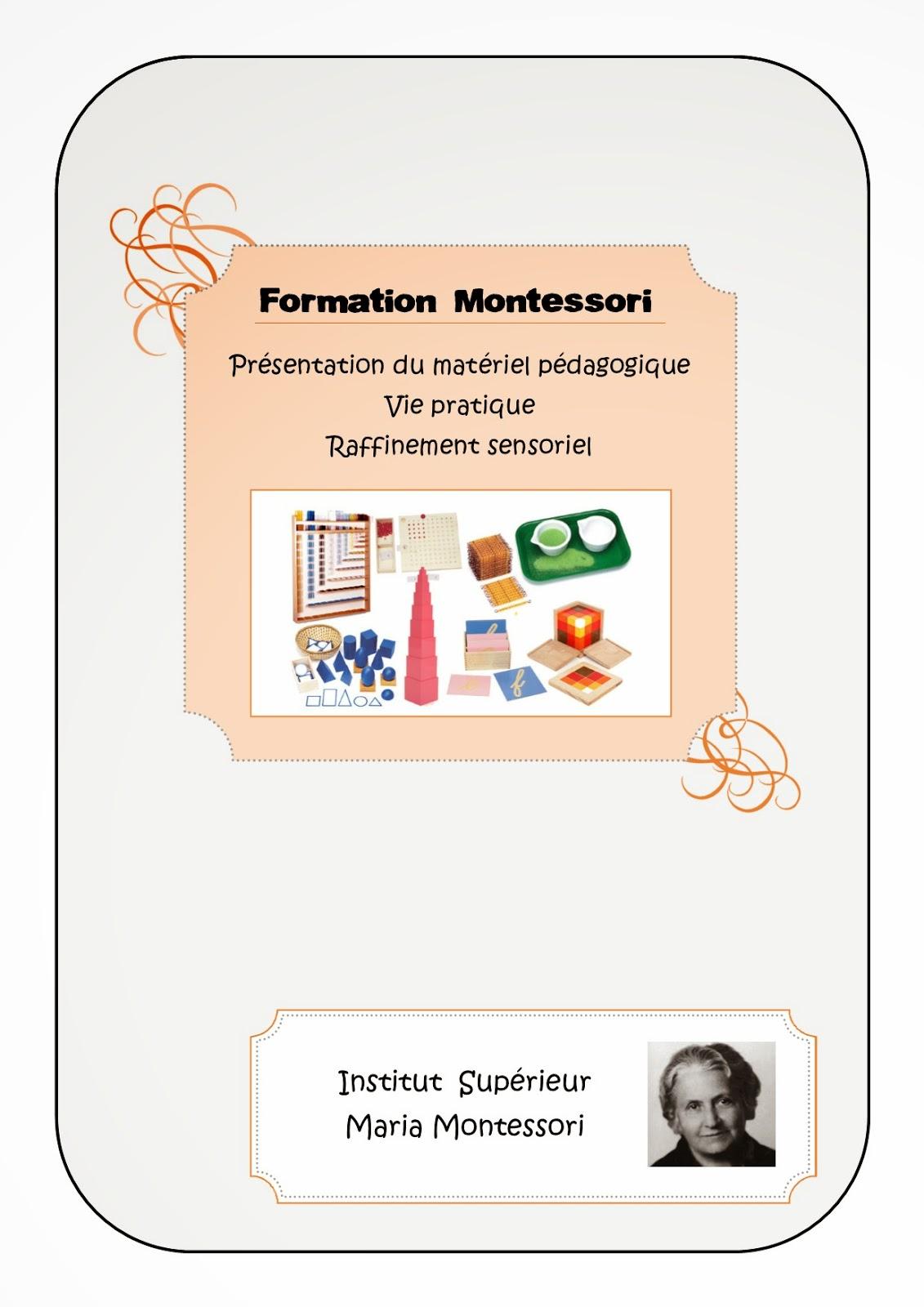 Compte-rendu formation Montessori #3