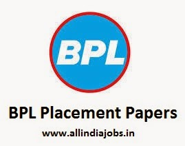 BPL Placement Papers 2015
