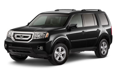 2011 Honda Pilot in black color