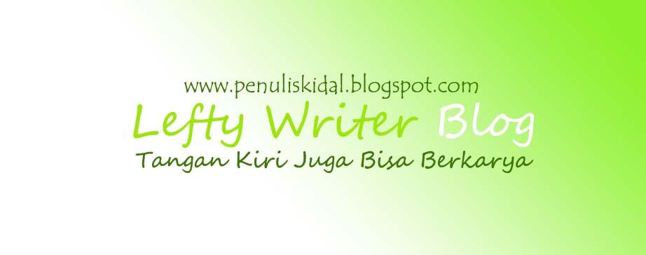 Penulis Kidal - Tangan Kiri Juga Bisa Berkarya