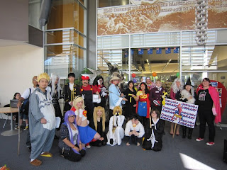 Onehunga Community Library celebrating Comic Book Month 2011