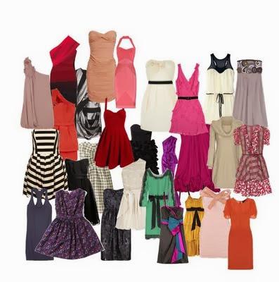 Dicas de Vestidos e Saias