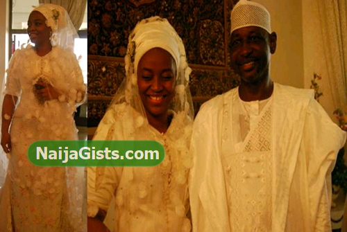 aishat babangida wedding divorce