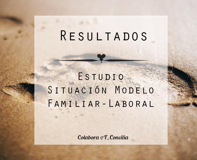 Estudios sobre la conciliación Familiar en España