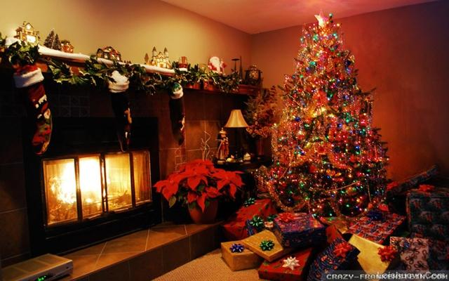 Trang trí căn phòng dịp lễ giáng sinh