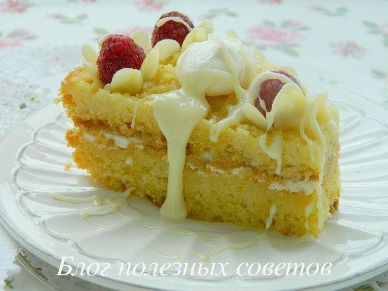 Торт бисквитный со сгущенкой рецепт пошагово в домашних условиях 21