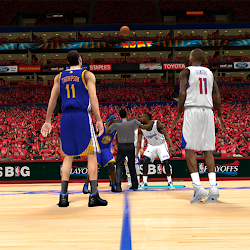 NBA 2K14 L.A. Clippers Playoffs Crowd Mod