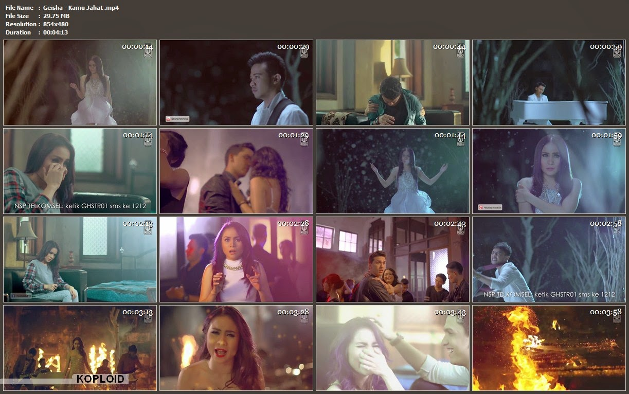 Download Video Klip Musik Geisha - Kamu Jahat Mp4