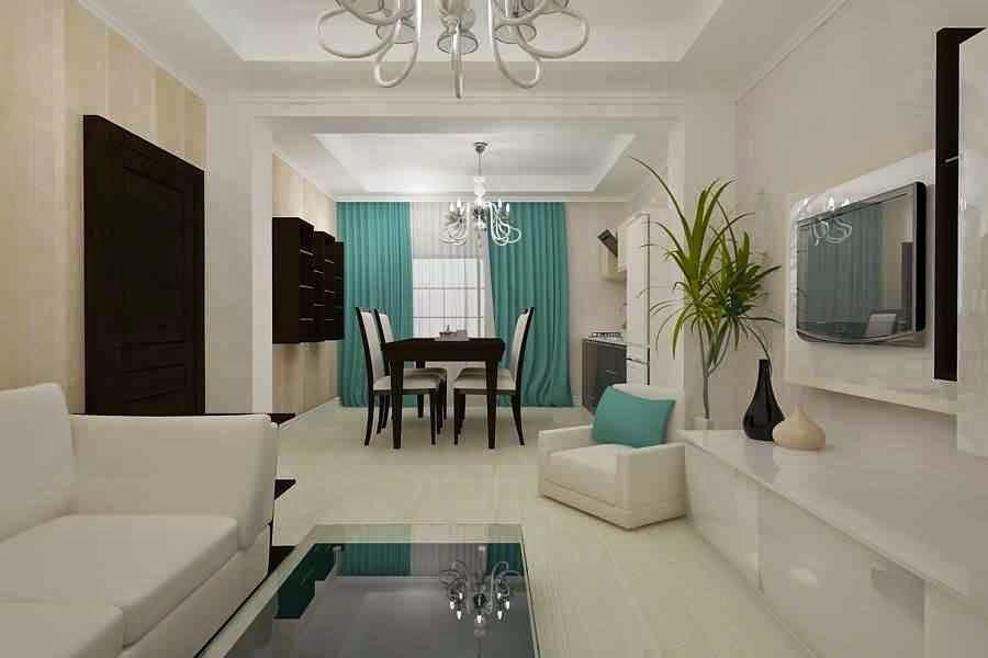 design nterior living vila