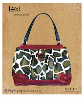 Miche Bag Lexi Prima Shell, Giraffe Print Purse