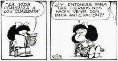 Mafalda, como siempre, muy acertada en sus apreciaciones