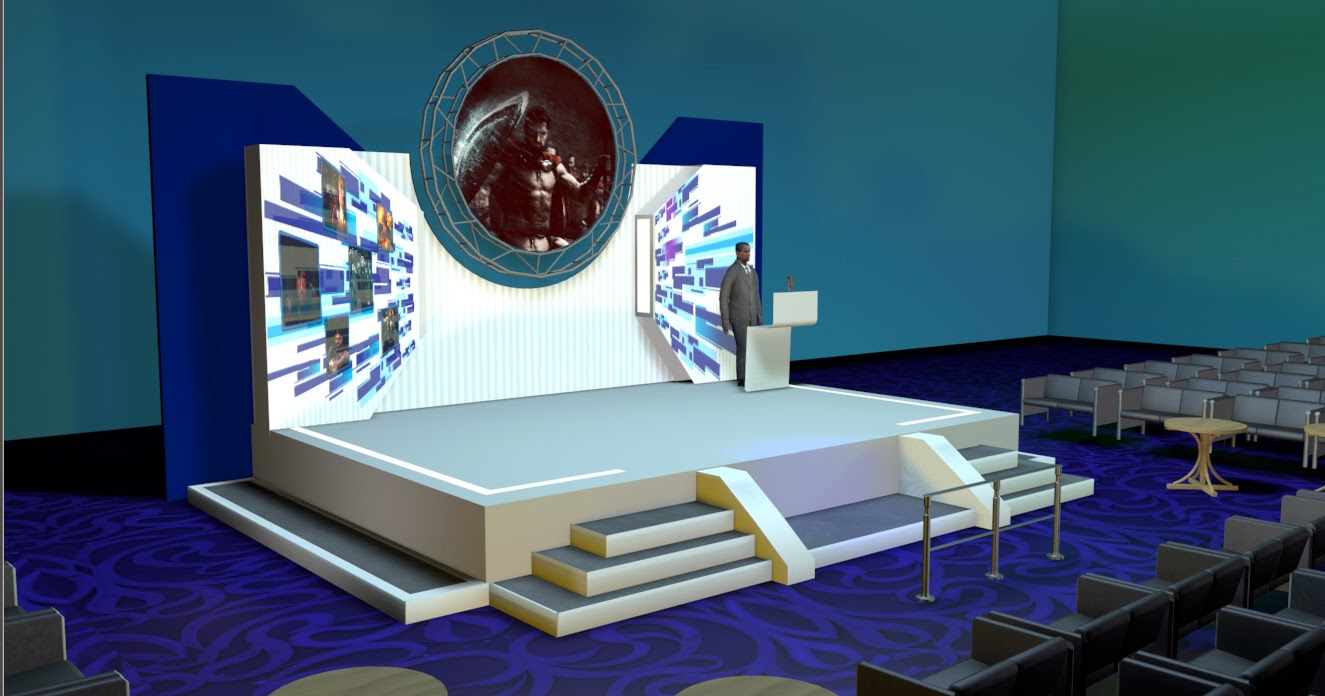 3d studio pure cg artist film editing vfx stage for Tisch design for stage and film