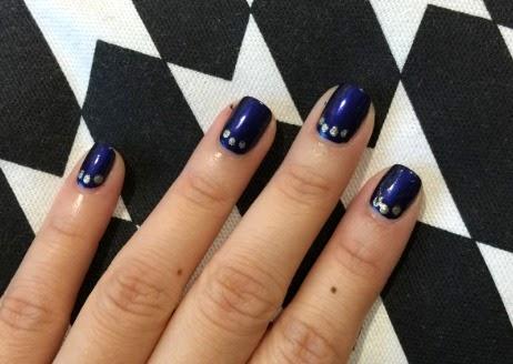 How To: Edgier Winter Nail Art Design