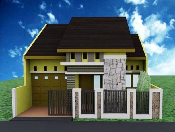 kumpulan model rumah sederhana terbaru desain rumah
