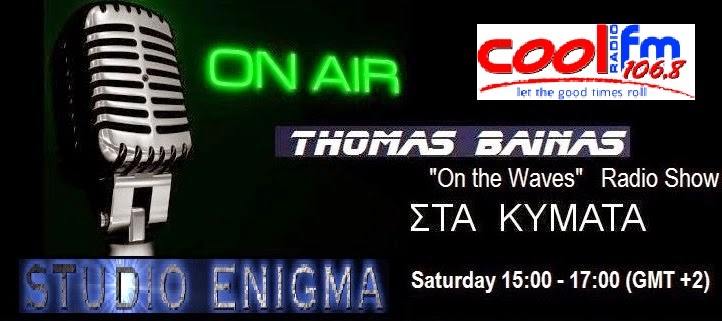 """On the Waves"" radio show with Thomas Bainas"