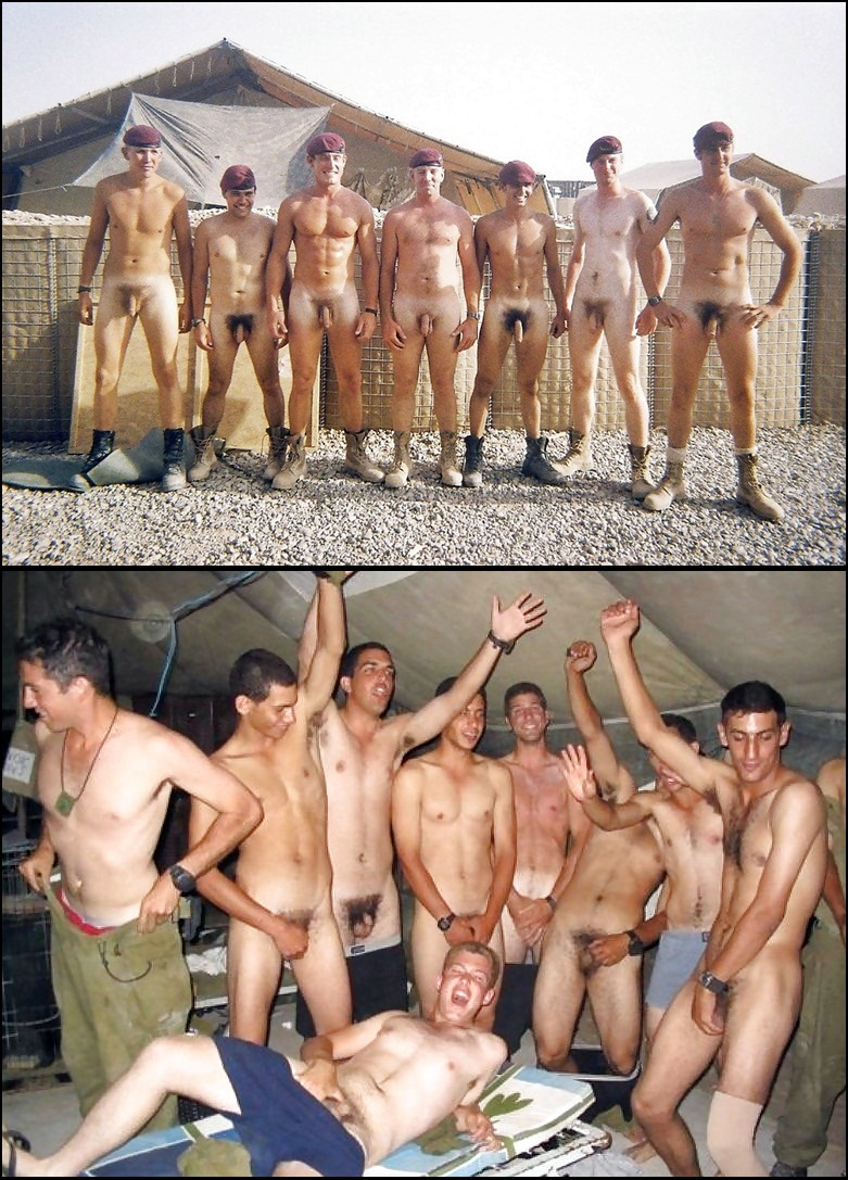 Some Sey Naked Military Men For The Th Of July Don T Ask Tell