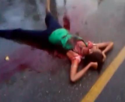 Asesina Apuñaladas a su Mujer