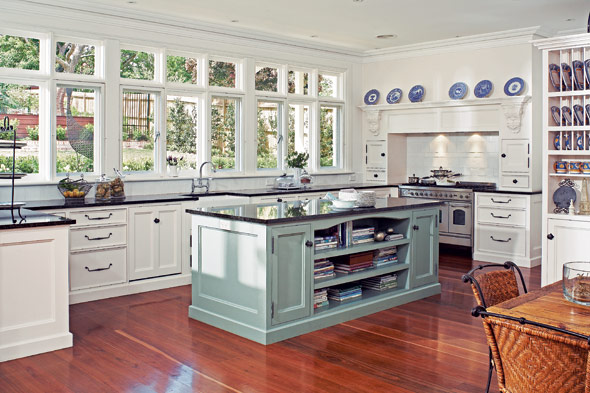 Hamptons Style Kitchen Island