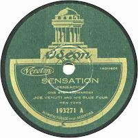 Sensation - Joe Venuti