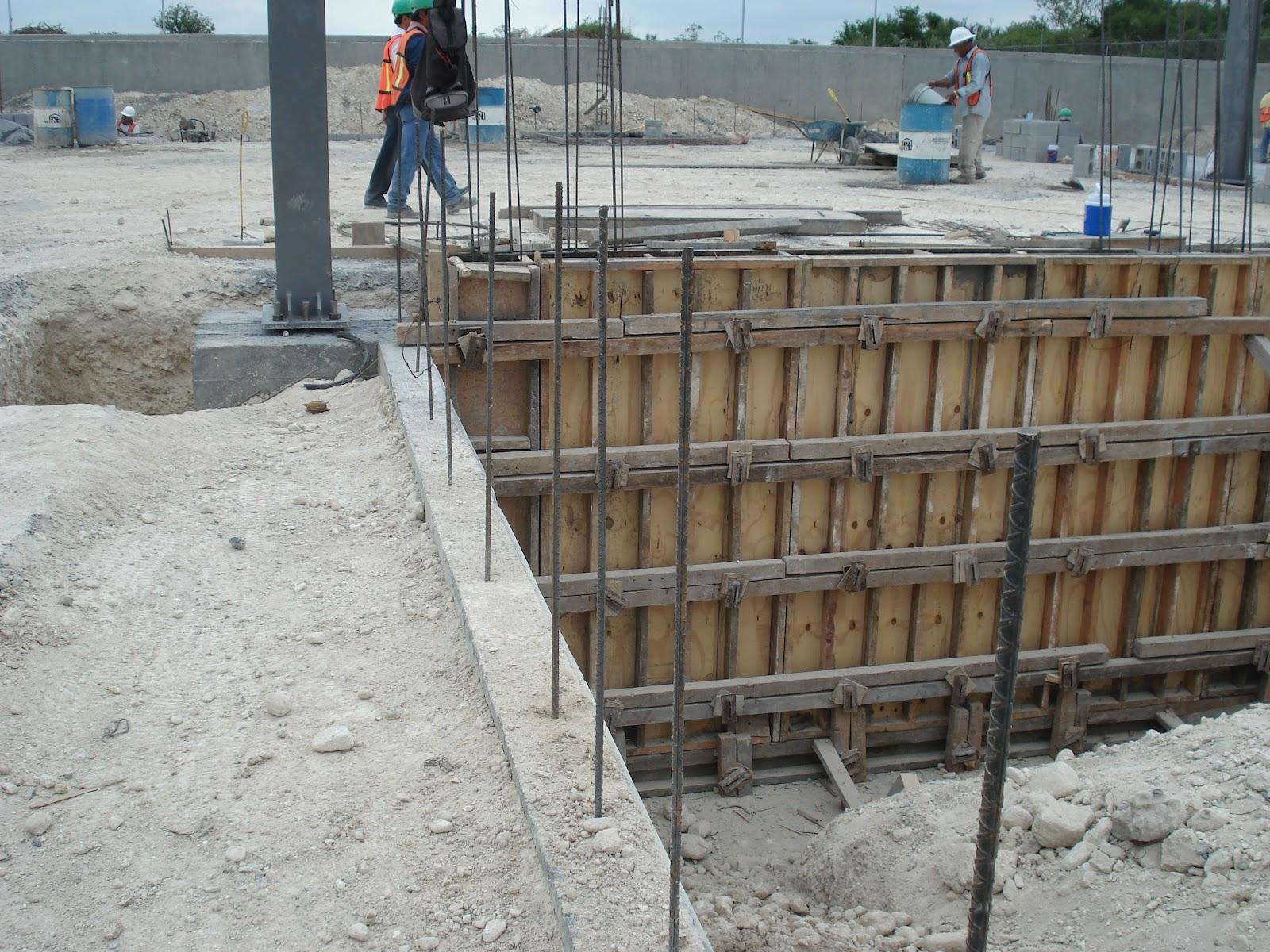 Heb san roque servicios fsc for Muro de concreto armado