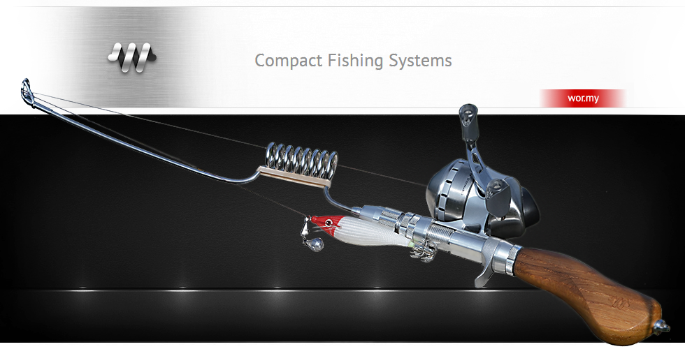 compact fishing rod compact fishing pole fishing gear