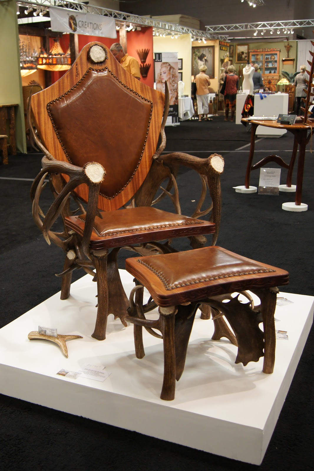 The peak antler company western design conference in for Red chair design jackson wy