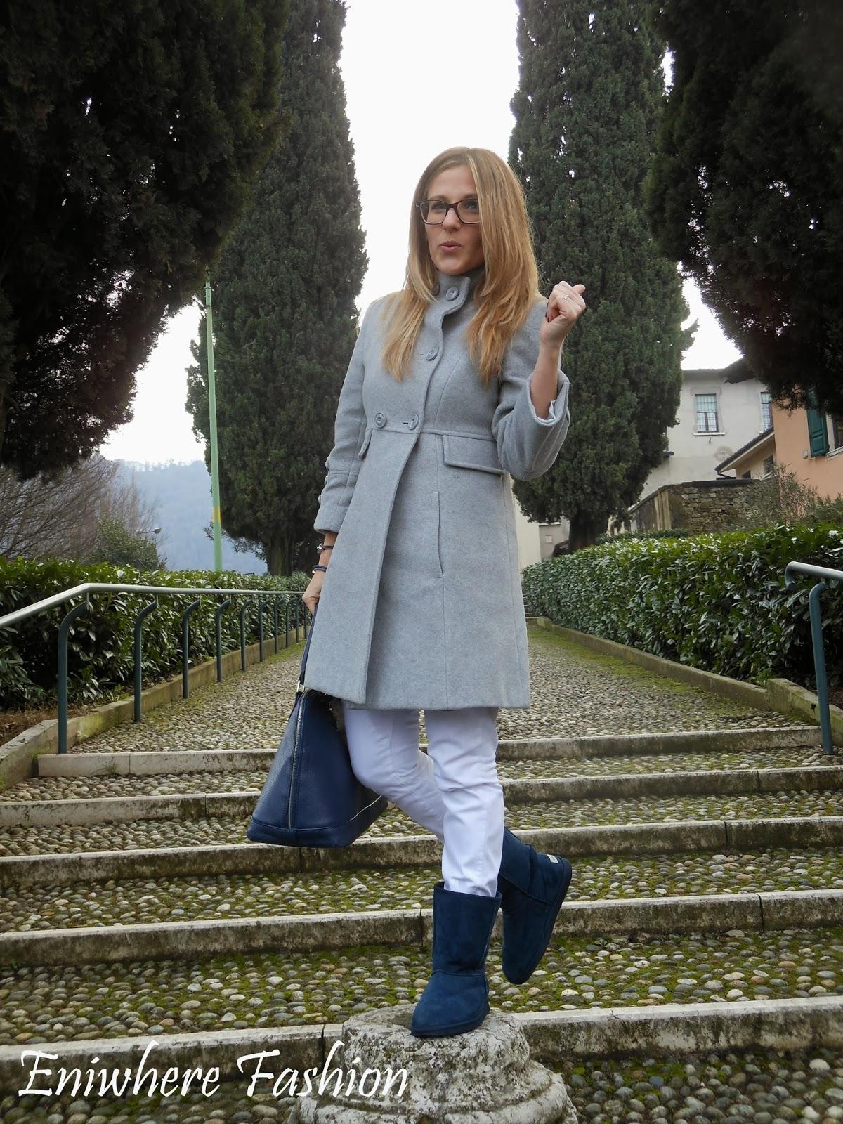 Eniwhere Fashion cappotto grigio Braccialetti