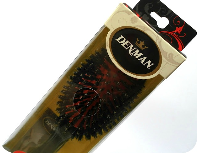 A picture of Denman Medium Boar Bristle Grooming Brush