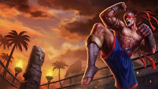 muay tahi lee sin league of legends lol champion hd wallpaper