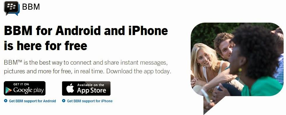 Cara Download dan Install BlackBerry Messenger (BBM) For Android