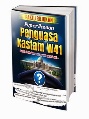 Ebook Preview Pakej Rujukan Peperiksaan Penguasa Kastam W41