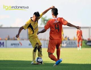 foto dan video cuplikan gol pertandingan Barito Putera Vs Persisam