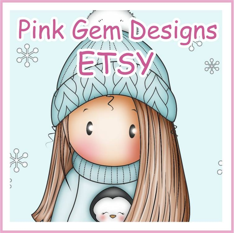 Pink Gem Etsy Shop!