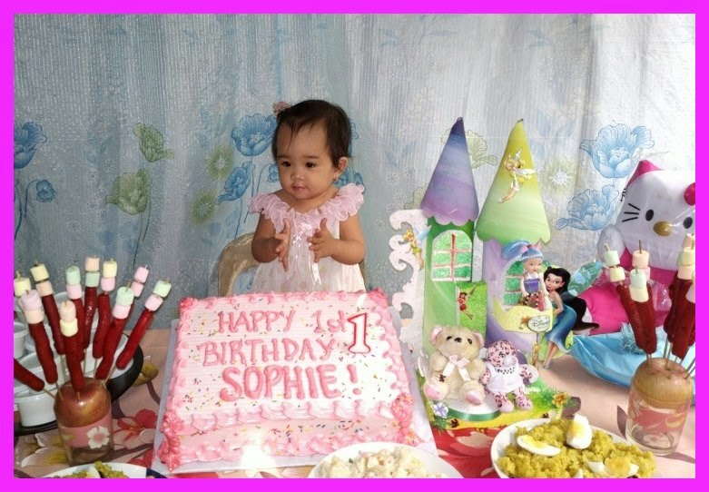 Inday Sophie clapping her hands