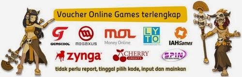 Voucher Game Online Murah dan Terlengkap