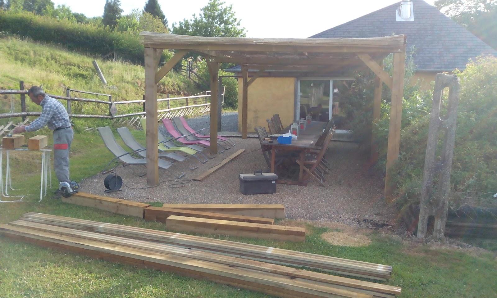domaine du martinaa elevage gourmandise jardinage et partage fabriquer une chaise longue en