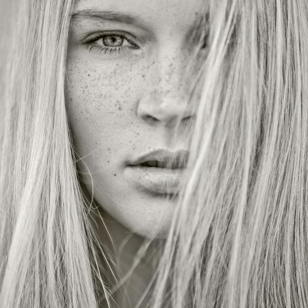 Черно-белые портреты Йохена Дреесса